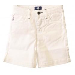 Bermuda blanca niño cinco bolsillos de La Jaca