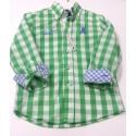 Camisa niño verde Trópico de La Jaca