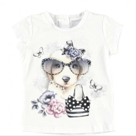 Camiseta bebe niña de IDO