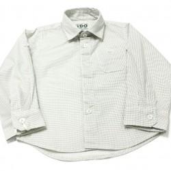 Camisa topos beige de IDO