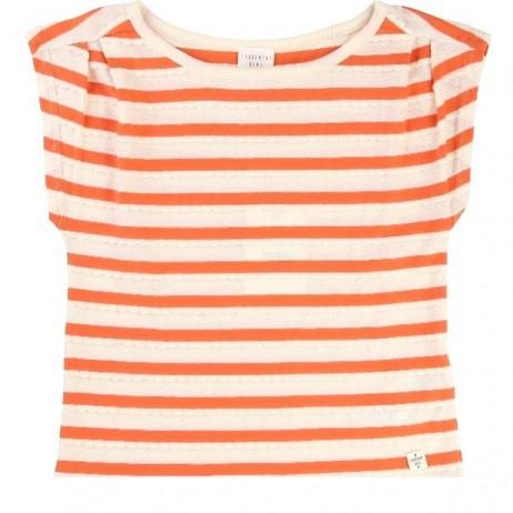 Camiseta rayas niña de Carrement Beau