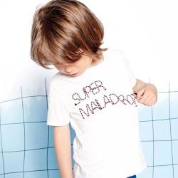 Camiseta crema niño de Carremet Beau