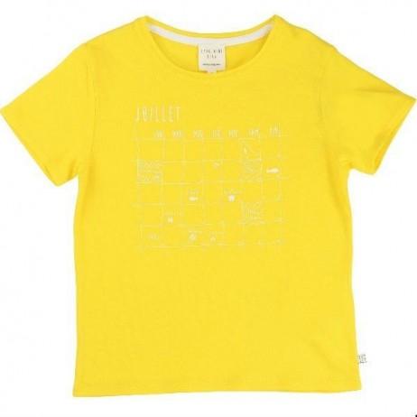 Camiseta amarilla niño de Carrement Beau
