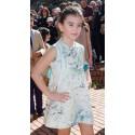 vestido estampado niña de Naxos