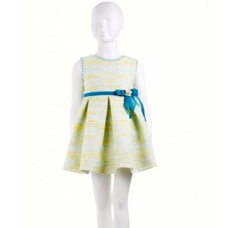 Vestido limón niña de Naxos
