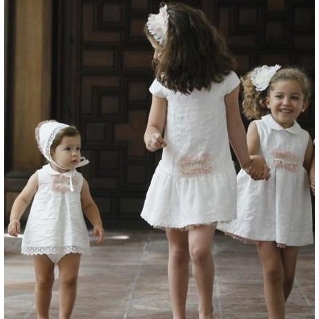 Vestido ceremonia blanco de Naxos