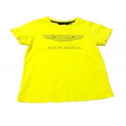 Camiseta amarilla niño de Aston Martin