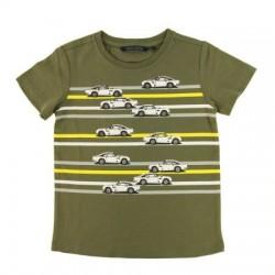 Camiseta verde militar niño de Aston Martin