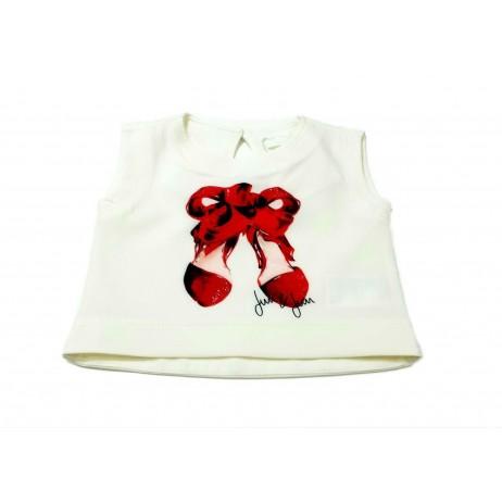 Camiseta corta niña de FUN & FUN