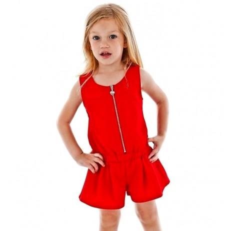 Mono corto rojo niña de FUN & FUN