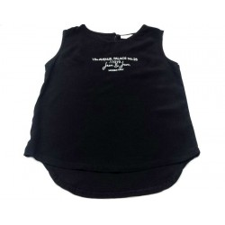Camiseta negra niña de FUN & FUN