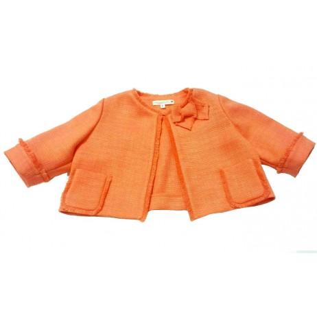 Torera niña naranja de Carmen Vazquez