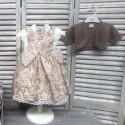 Vestido bebe niña estampado flores de Teresa Rodriguez