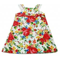 Vestido estampado flores de Elisa Menuts