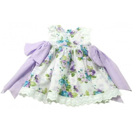 Vestido estampado bebe niña de Teresa Rodriguez