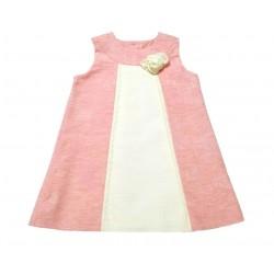 Vestido rosa bebe niña de Elisa Menuts