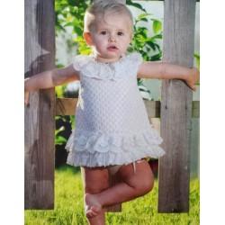 Jesusito rosa pálido bebe niña de Carmen Vazquez