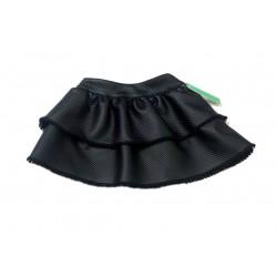Falda negra polipiel niña de Sinfonietta
