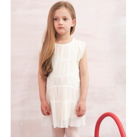 Vestido ceremonia rosa niña de Carrement Beau