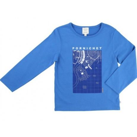 Camiseta azulón niño de Carrement Beau