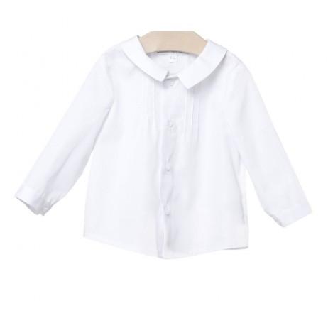 Camisa bebe niño crema de Fina Ejerique
