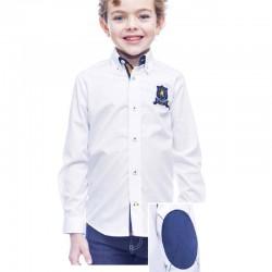 Camisa blanca niño Donatello de La Jaca