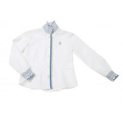 Camisa blanca niña Cornelia de La Jaca