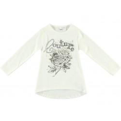 Camiseta niña crema de IDO