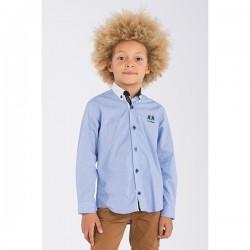 Camisa azul niño Zanzibar de La Jaca
