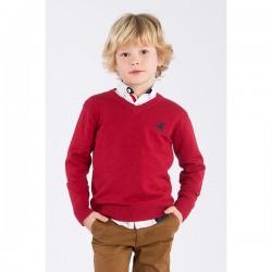 Jersey rojo niño de La Jaca
