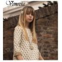 Vestido niña Lunares Venezia de Bella Bimba