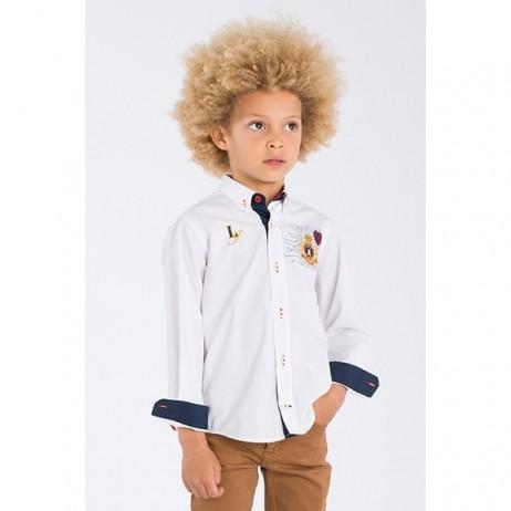 Camisa blanca niño Ares de La Jaca