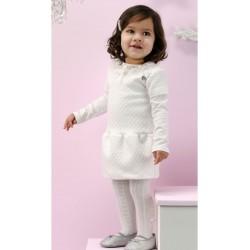 Vestido crema niña de Le Chic