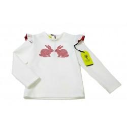 Camiseta crema niña de Juliette