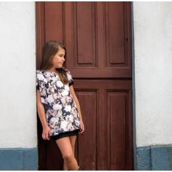 Vestido flores de Carmen Vazquez