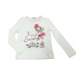 Camiseta crema niña de Artigli Girl