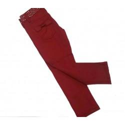Pantalón rojo niña de Artigli Girl
