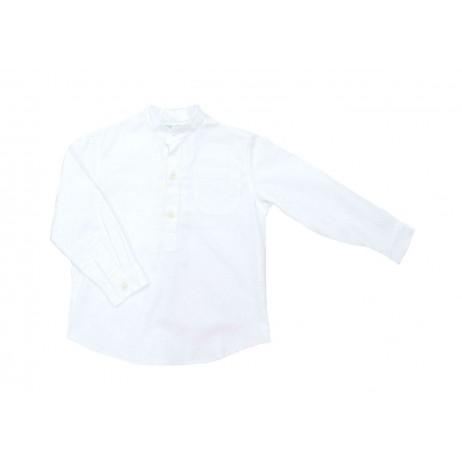 Camisa blanca niño de A Gatas