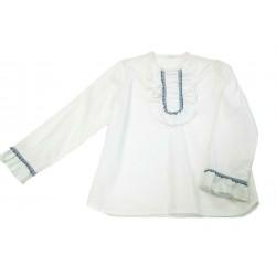 Blusa blanca niña de A Gatas