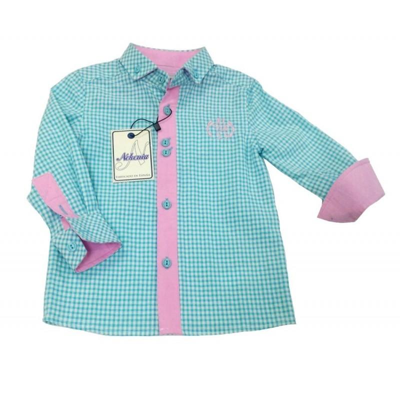 32dfc33977 camisa bebe niño-moda infantil- ropa bebe- nicoy nicoletta