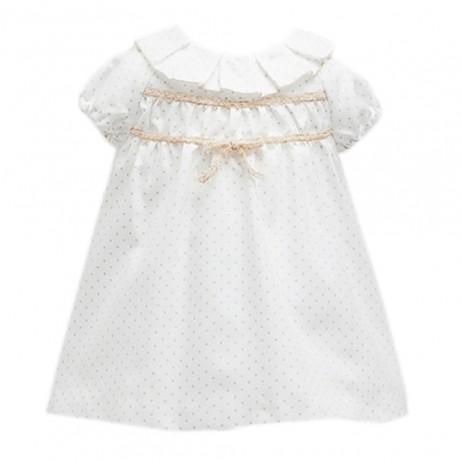 Vestido estrellitas bebe niña de Fina Ejerique