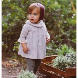 Vestido estampado bebe niña de Fina Ejerique