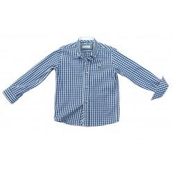 Camisa cuadros azules niño de Nachete