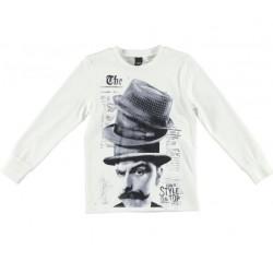 Camiseta crema niño de IDO