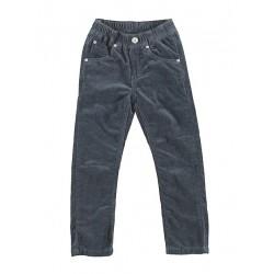 Pantalón pana gris niño de IDO