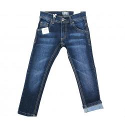 Pantalon vaquero azul oscuro niño de IDO