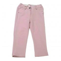 Pantalón rosa palo bebe niña de IDO
