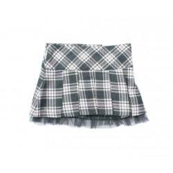 Falda cuadros niña de IDO