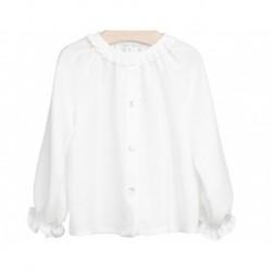 Blusa blanco roto niña de Fina Ejerique