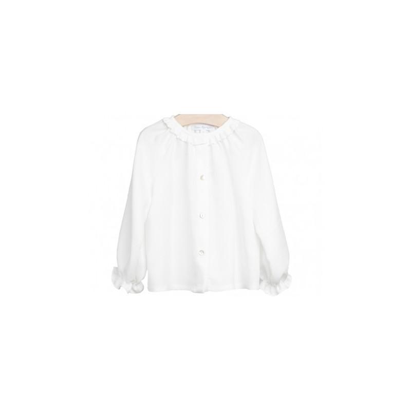 2b35e3004d3ae Blusa Blanca - Moda infantil niña - Ropa de niña – Nico y Nicoletta